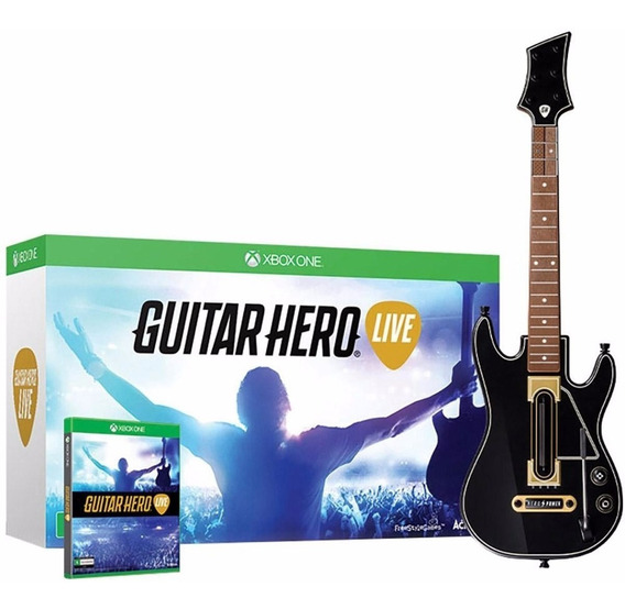 Jogo Guitar Hero Live Xbox One + Guitarra - Novo E Original