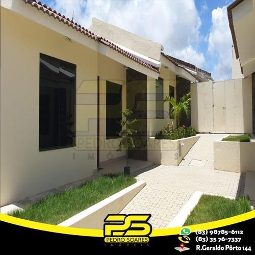 Casa Com 2 Dormitórios À Venda, 120 M² Por R$ 200.000 - Carapibus - Conde/pb - Ca0501