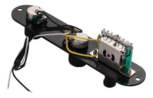 Imagen 1 de 6 de Tele Guitarra Telecaster Placa De Control Panel Y Perillas