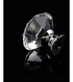 Puxador Cristal Diamante Gaveta Porta 30mm 20 Peças Promoção