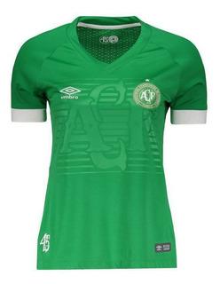 Camisa Umbro Chapecoense I 2018 Feminina
