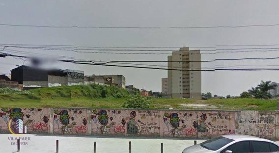 Terreno Residencial À Venda, 6.052 M2, 10 Min. Do Centro, Osasco. - Te0005