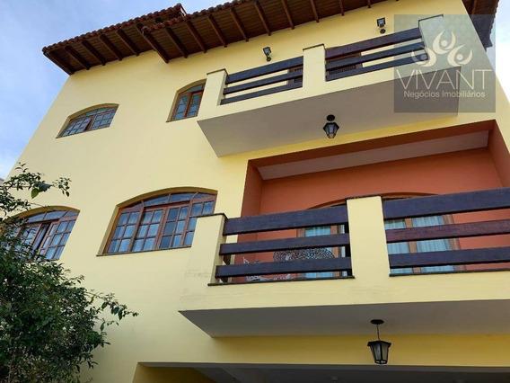 Sobrado Com 3 Dormitórios À Venda, 270 M² Por R$ 1.100.000 - Jardim Altos De Suzano - Suzano/sp - So0157