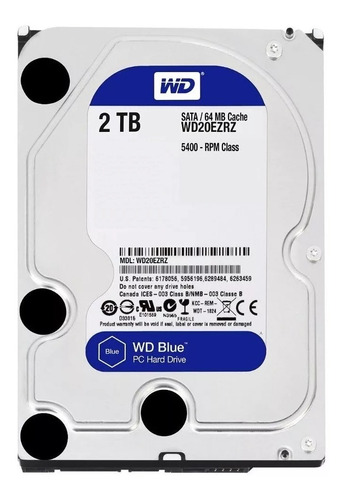 Disco Rigido 2tb Western Digital