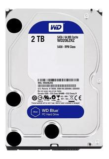 Disco duro interno Western Digital WD20EZRZ 2TB azul