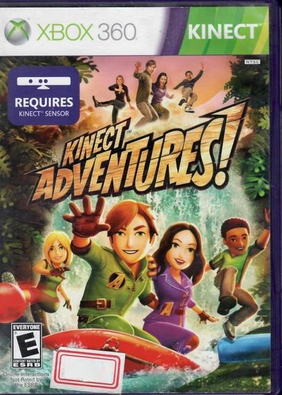 Jogo Kinect Adventures Xbox 360 Lacrado Original Novo