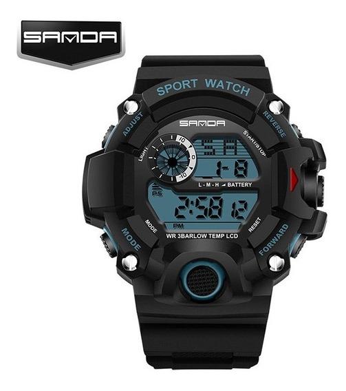 Relógio Masculino Esportivo Original Sanda Resistente Água