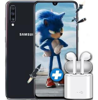 Samsung A70 128gb Rom 6gb Ram Triple Cámara 4g Lte + Auric