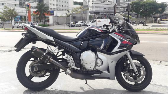 Gsx 650 F 2010 Preta Toda Original