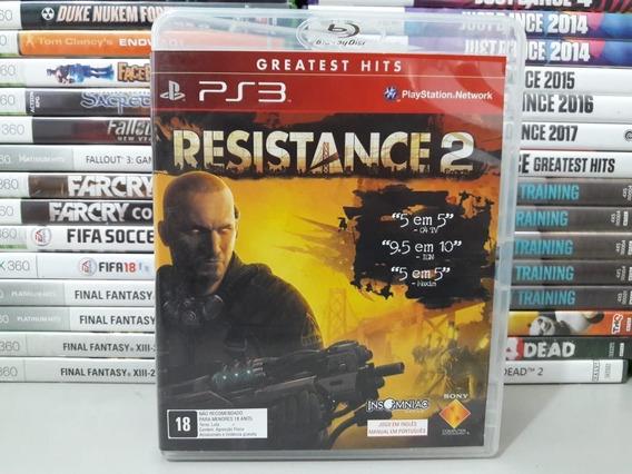 Resistance 2 Ps3 Jogo Original Playstation 3 Mídia Física