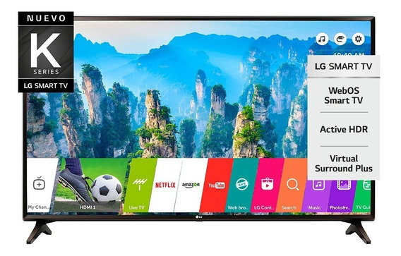 Smart Tv LG 43 Lk5700 Hdr Full Hd Bluetooth Webos 4.0