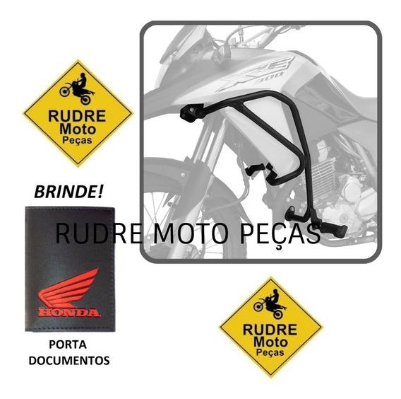 Protetor Motor Carenagem Com Pedaleira Xre300 Scam Brinde