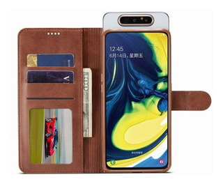 Capa Carteira Samsung A80 A90 Imeeke Magnético Couro Premium