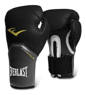 Everlast Pro Style Elite Talla 14 oz Color Negro Guantes de Boxeo para Entrenamiento