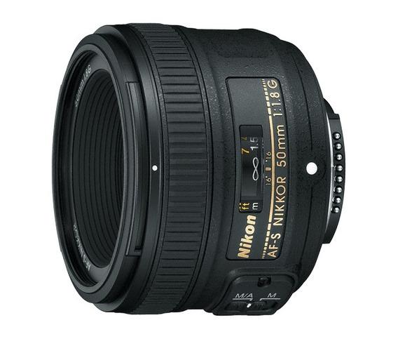 Lente Profissional Nikon Af-s Nikkor 50mm F/1.8g