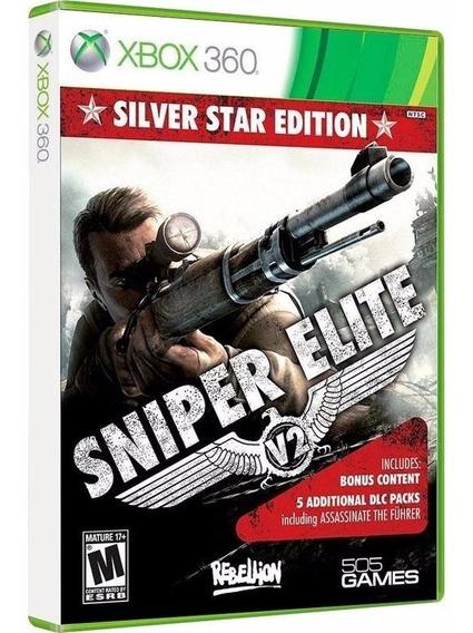 Sniper Elite V2 + 5 Dlc - Jogo Xbox 360 Original - Lacrado