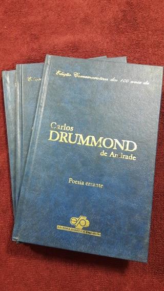 Livros Carlos Drummond De Andrade Ed. Comemorativa 100 Anos