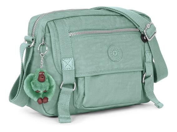 Cartera Kipling Original Verde Claro Nueva