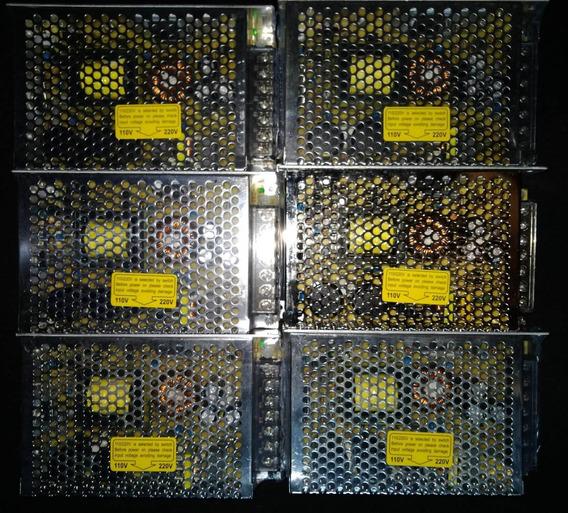 Fonte Chaveada Ms-145w - 12v / 12.5a (6 Unid.) Steady Power