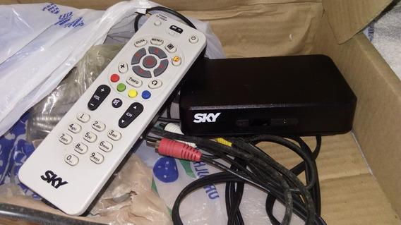 Kit Com Aparelho Da Sky + Antena (retirada Em Curitiba-pr)