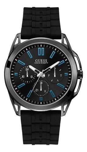 Reloj Para Caballero Guess Vertex W1177g1 Negro