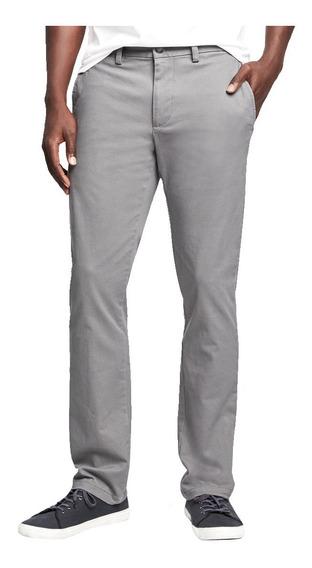 Pantalón Hombre Khaki Corte Slim Ultimate Vestir Old Navy