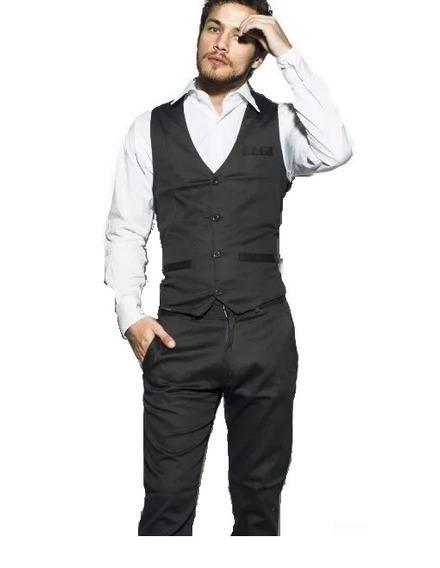Chaleco De Vestir Slim Fit Elástizado