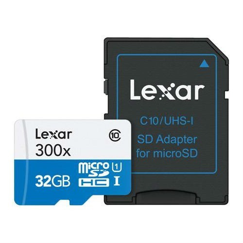 3287 Lexar Memoria Micro Sd 32gb Microsdhc Lsdmi32gbb1nl300a