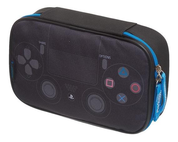 Estojo G Com Divisórias Playstation Player Pacific