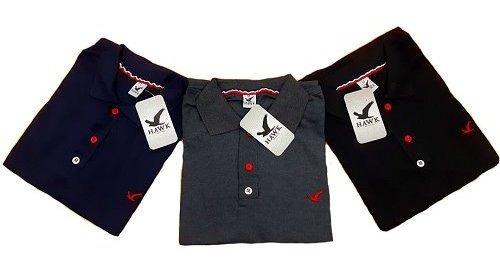 Kit 5 Camisas Gola Polo Masculina. Atacado, Famosa Marca