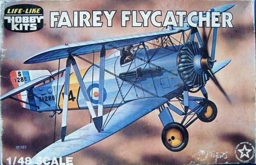 Imagen 1 de 3 de Avión Para Armar Fairey Flaycatcher Marca Lindberg