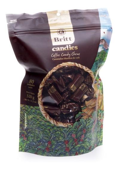 Caramelo Golosina Britt 320g - kg a $1