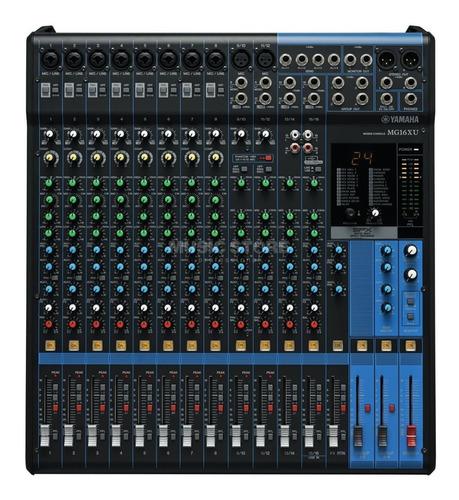 Imagen 1 de 5 de Mezclador Yamaha Mg16xu 16 Canales/efectos Consola Yamaha Mg
