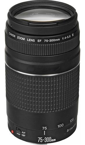 Lente Canon Ef 75-300mm F/ 4-5.6 Iii Pronta Entrega
