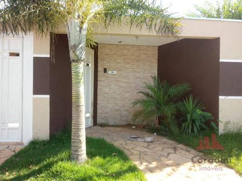 Imagem 1 de 15 de Casa Com 3 Dormitórios À Venda, 175 M² Por R$ 450.000,00 - Jardim Monte Das Oliveiras - Nova Odessa/sp - Ca2614