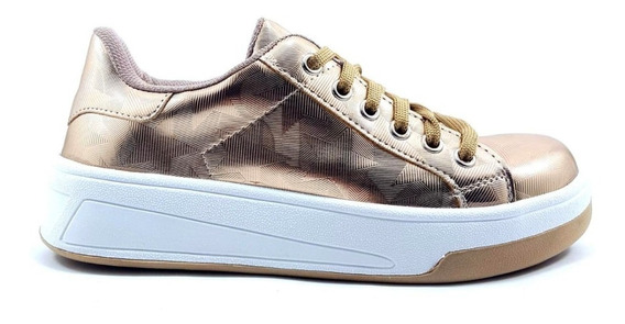Zapato Zapatilla Mujer Sneaker Urbana Plataforma Moda 270