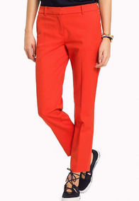 New Penny T5 Ankle Pant - Tommy Hilfiger - 1033440 - Rojo