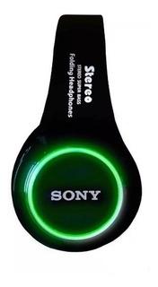 Audifono Sony Luz Led Radio Manos Libres Oem