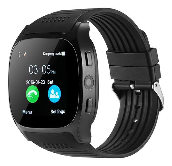 Bluetooth Reloj Inteligente Soporte Sim Cámara Con Tarjetatf