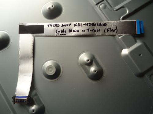 Cable Plano Flex Main A T-con 071-0101-2162 Sony Kdl-42ex440