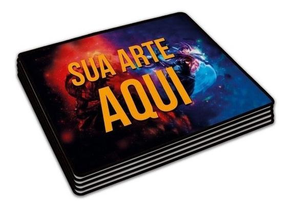 Mouse Pad Personalizado Com Sua Arte /foto - Mousepad 21x17