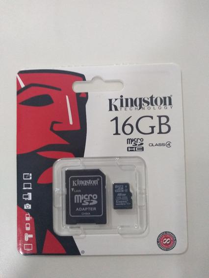 Kit 9 Cartão De Memória Kingston Original 100% 16gb Nf