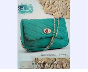 Linda Bolsa Verde Jade By Oriflame ¡envío Gratis!