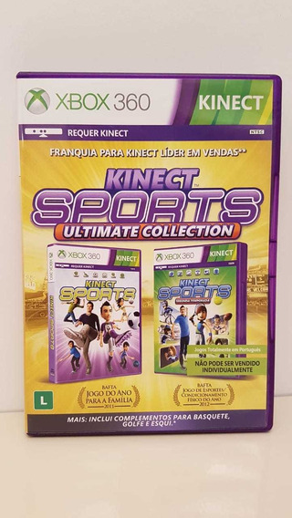 Kinect Sports Ultimate Colection Midia Fisica K/sprts 1 E 2
