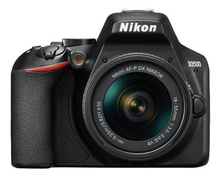 Nikon D3500 18-55mm VR Kit DSLR negra