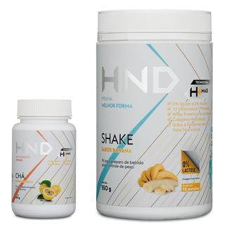 Shake Alimentar A-z Completo Sabor Banana H+ E Chá