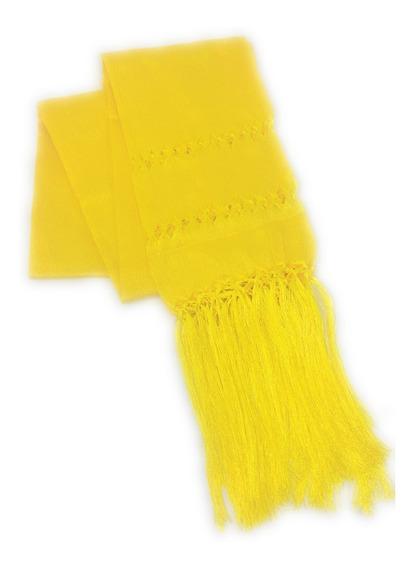 Rebozo Mexicano De Artisela. Amarillo Canario