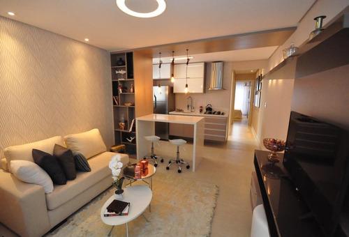 Imagem 1 de 16 de Apartamento Com 2 Dormitórios À Venda, 53 M² Por R$ 400.000,00 - Jardim - Santo André/sp - Ap5900