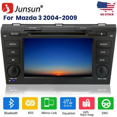 Para Mazda 3 2004-2009 Radio De Coche Estéreo Gps Navi Repr