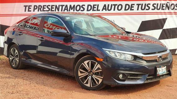 Honda Civic 2016 4p Turbo Plus L4/1.5/t Aut